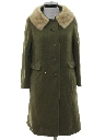 Womens Wool Duster Jacket