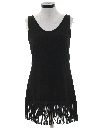 Womens Mini Flapper Style Cocktail Dress