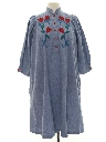 Womens Denim Hippie Dress