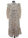 Womens Hippie Muu Muu Style Dress
