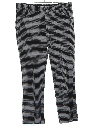 Mens Flared Leisure Style Disco Pants