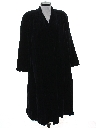 Womens Velvet Duster Coat Jacket