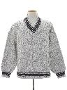 Mens Totally 80s Preppy Sweater