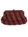 Womens Accessories -Leather Clutch Purse