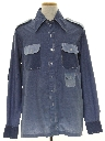 Mens Chambray Safari Shirt