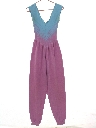 Womens Totally 80s Exercise Jumpsuit