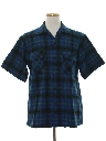 Mens Wool Pendleton Sport Shirt