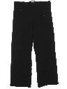 Mens Wool Navy Issue Bellbottom Pants