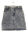Womens Totally 80s Denim Mini Skirt