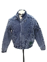 Mens or Boys Totally 80s Acid Washed Denim Jacket