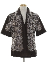 Mens Resort Wear Style Disco Shirt
