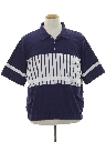 Mens Totally 80s Golf Style Shirt