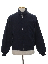 Mens Mod Derby Style Gas Station Zip Work Jacket