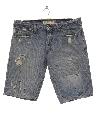 Mens Grunge Denim Jeans Shorts