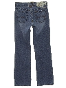Womens Designer Straight Leg Denim Jeans Pants