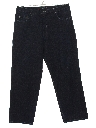 Mens Wide Leg Denim Jeans Pants
