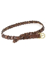 Mens Accessories - Braided Leather Belt