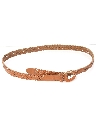 Womens Accessories - Braided Leather Belt