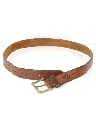 Mens Accessories - Tooled Leather Belt