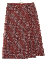 Womens Mod Knit Skirt