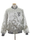 Mens Satin Baseball Jacket