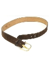 Mens Accessories - Suede Leather Belt