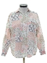 Womens Totally 80s Look Shirt