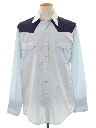 Mens Rodeo Style Western Shirt