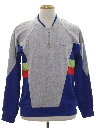 Mens Totally 80s Style Track Jacket