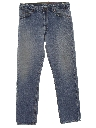 Mens Levis 505 Straight Leg Denim Jeans Pants