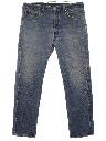 Mens Levis 501 Straight Leg Denim Grunge Jeans Pants