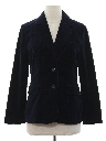 Womens Totally 80s Velvet Blazer Sport Coat Jacket