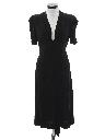 Womens Art Deco Cocktail Dress