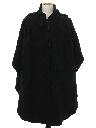 Mens Wool Poncho Cloak Jacket