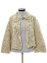 Womens Mod Knit Sweater Jacket