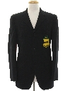 Mens Preppy Blazer Style Sport Coat Jacket
