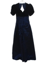 Womens Totally 80s Maxi Prom Or Cocktail Dress