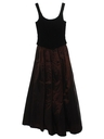 Womens Designer Maxi Prom Or Cocktail Dress
