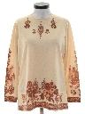 Womens Hippie Knit Shirt