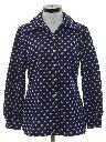Womens Mod Knit Leisure Style Shirt-jac Shirt
