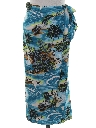 Womens Hawaiian Wrap Skirt