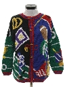 Womens Cheesy Kitschy Ugly Sweater