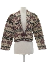 Womens Totally 80s Equestrian Style Jacket