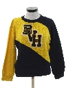 Womens Cheerleader Letterman Style Sweater