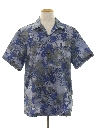 Mens Print Disco Style Hawaiian Shirt
