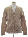 Mens Mohair Cardigan Sweater