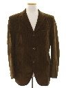 Mens Corduroy Blazer Sport Coat Jacket