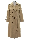 Womens Designer Overcoat Trench Jacket