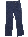 Womens Wide Leg Denim Jeans Pants