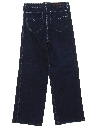 Womens Totally 80s High Waisted Wide Stovepipe Leg Denim Mom Jeans Pants